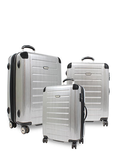 Ricardo Roxbury Brushed Silver Luggage Collection