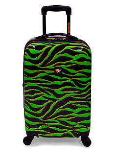 Loudmouth 22-in. Wild Expandable Spinner Luggage - Lime Green