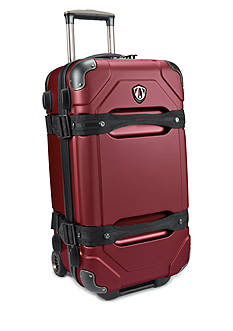 Traveler's Choice Maxporter 24-in. Rolling Trunk Luggage - Merlot