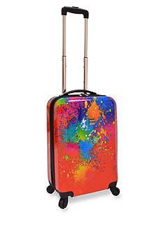 U.S. Traveler 20-in. Fashion Paint Splatter Hardside Spinner