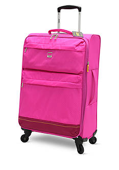 Lucas Solid Color Ultra-Light 20-in. Spinner in Pink