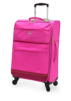 Lucas Solid Color Ultra-Light 24-in. Spinner in Pink