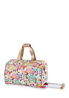 Lily Bloom Tulips & Tweets Rolling City Bag