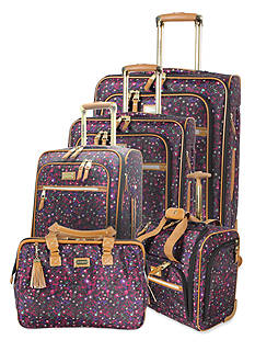 Steve Madden Honey Luggage Collection - Purple Print