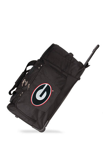 Georgia Bulldogs Luggage 27-in. Rolling Duffel