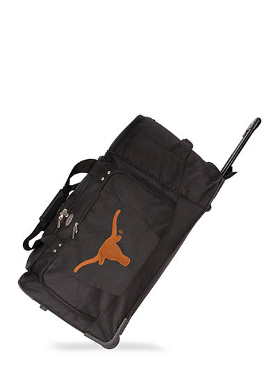 Texas Longhorns Luggage 27-in. Rolling Duffel