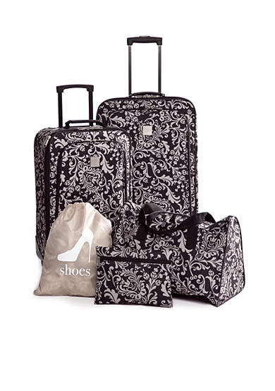 New Directions® 5 Piece Luggage Set- Vine