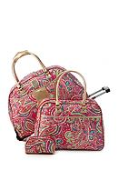 New Directions® 3-Piece Pink Paisley Luggage