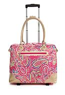 New Directions® Pink Paisley with Gold Trim