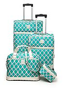 New Directions® Jet Set 4-Piece Luggage Set -