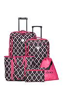 New Directions® 5-Piece Luggage Set - Pink