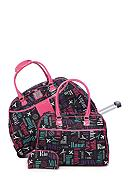 New Directions® 3-Piece City Print with Pink