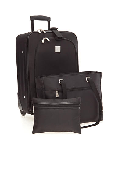 New Directions® 3-Piece Luggage Set - Black