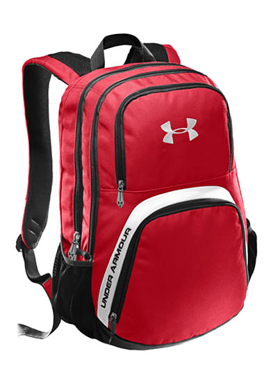 Under Armour® PTH Victory Backpack Red with Black