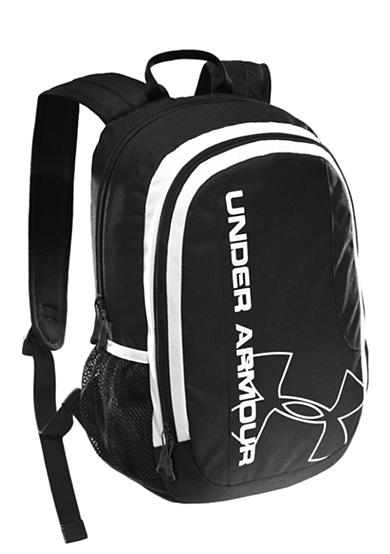 Under Armour® Dauntless Backpack Black with White