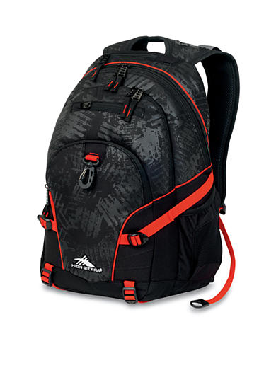 High Sierra Loop Backpack - Black Threads