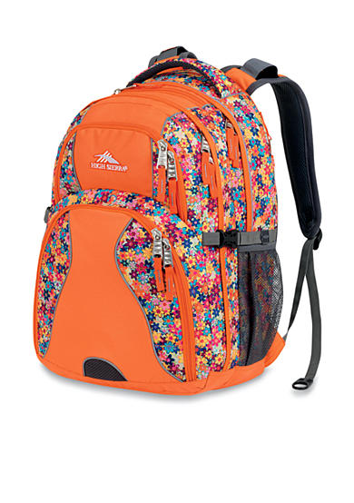 High Sierra Swerve Backpack - Prairie Flowers
