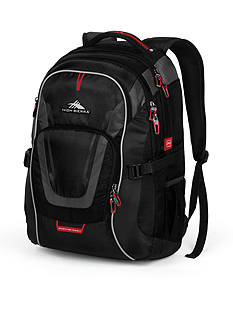 High Sierra AT7 COMPUTER BACKPACK BLACK DS