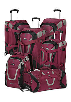 High Sierra Adventure Travel 7 Luggage Collection Boysenberry - Online Only