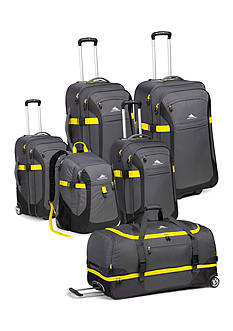 High Sierra Sport Tour Luggage Collection - Gray Mercury