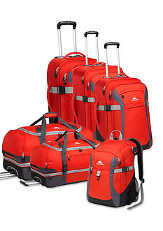 High Sierra Sport Tour Luggage Collection - Red Mercury