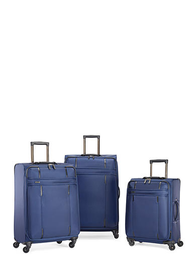 Hartmann Lineaire Spinner Luggage Collection - Navy