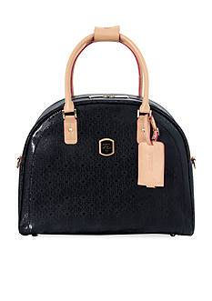 GUESS FROSTED DOME TOTE BLK DS