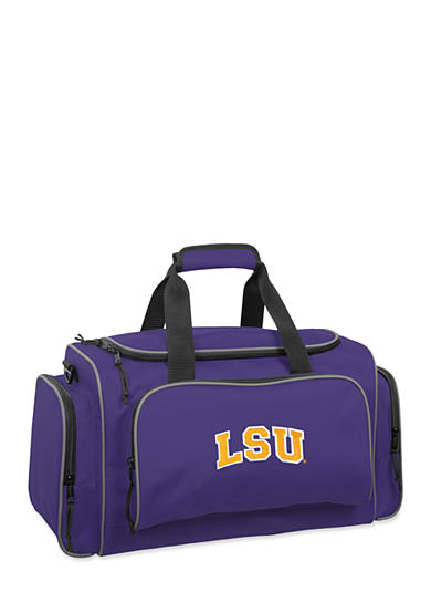 WallyBags® LSU Tigers 21-in.  Collegiate Duffel - Online Only