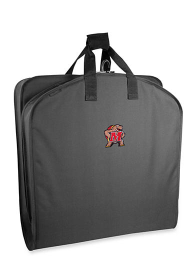 WallyBags® Maryland Terrapins 40-in. Suit Length Garment Bag - Online Only