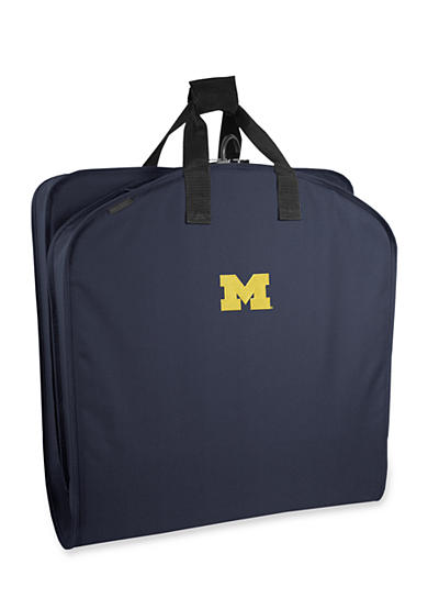 WallyBags® Michigan Wolverines 40-in. Suit Length Garment Bag