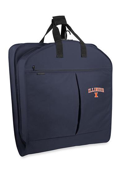 WallyBags® Illinois Fighting Illini 40-in. Suit Length Garment Bag - Online Only