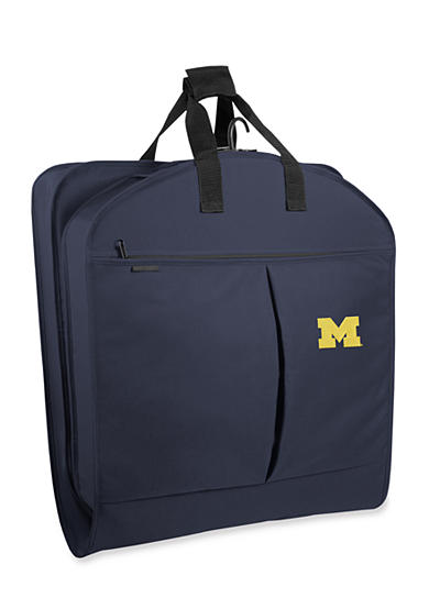 WallyBags® Michigan Wolverines 40-in. Suit Length Garment Bag - Online Only