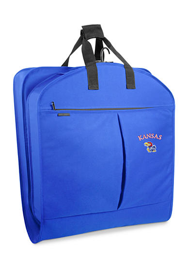 WallyBags® Kansas Jayhawks 40-in. Suit Length Garment Bag - Online Only