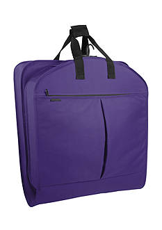 WallyBags 40-in. Suit Length Garment Bag with Pockets