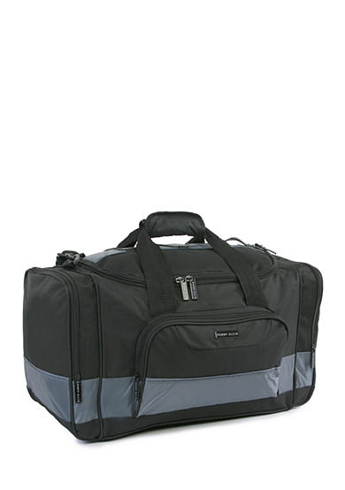 American Traveler Medium Travel Duffel Bag Black/Grey