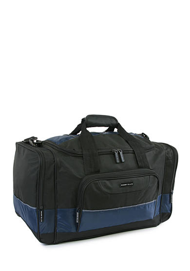 American Traveler Medium Travel Duffel Bag Black/Navy
