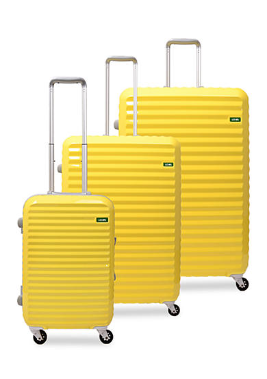 Lojel Groove Frame Hardside Spinner Luggage Collection Butter Yellow - Online Only