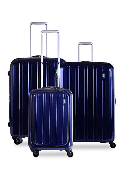Lojel Lucid Hardside Spinner Luggage Collection Navy - Online Only