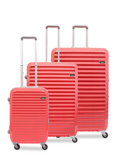 Lojel Groove Frame Hardside Spinner Luggage Collection Macaroon Pink - Online Only
