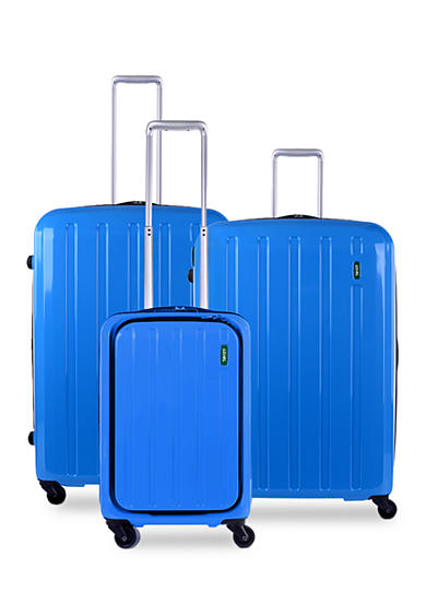 Lojel Lucid Hardside Spinner Luggage Collection Carrera Blue - Online Only