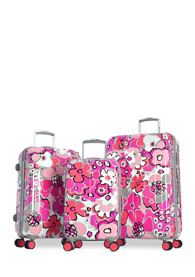 Olympia Luggage Blossom II Hardside Collection