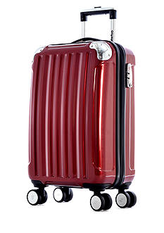 Olympia Luggage STANTON CARRY ON HS RED DS