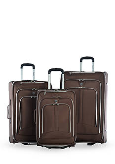 Olympia Luggage Hamburg Luggage Set - Brown