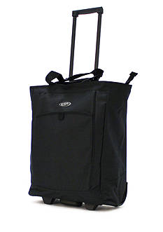 Olympia Luggage OLYMPIA FASHION ROLLING SHOPPER TOTE BLACK - Style # RS-400