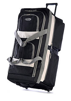 Olympia Luggage 33-in. 8 Pocket Rolling Duffel