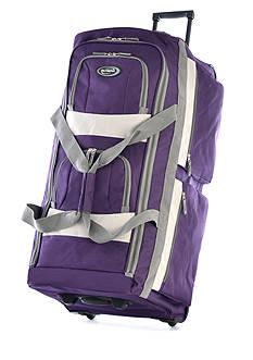Olympia Luggage 33-in. 8 Pocket Rolling Duffel