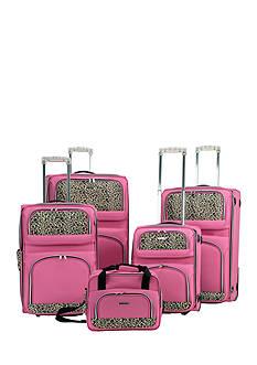 Rockland 5 Piece Expandable Luggage Set