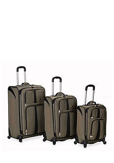 Rockland 3 Piece Eclipse Spinner Luggage Set