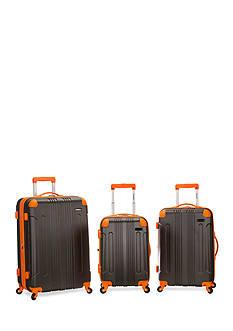 Rockland 3 Piece Sonic ABC Upright Luggage Set
