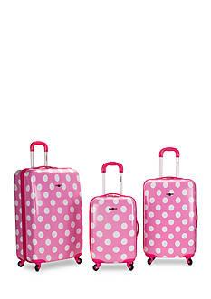 Rockland 3 Piece Laguna Beach Luggage Set